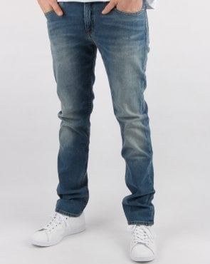 Tommy Hilfiger Jeans Tommy Hilfiger Ryan Straight Jeans Fulton Mid Blue