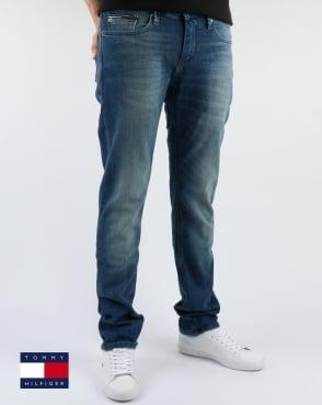 Tommy Jeans Tommy Hilfiger Scanton Slim Fit Jeans Berry Mid Blue Comfort