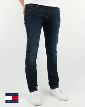 Tommy Hilfiger Scanton Slim Fit Jeans Dark Comfort