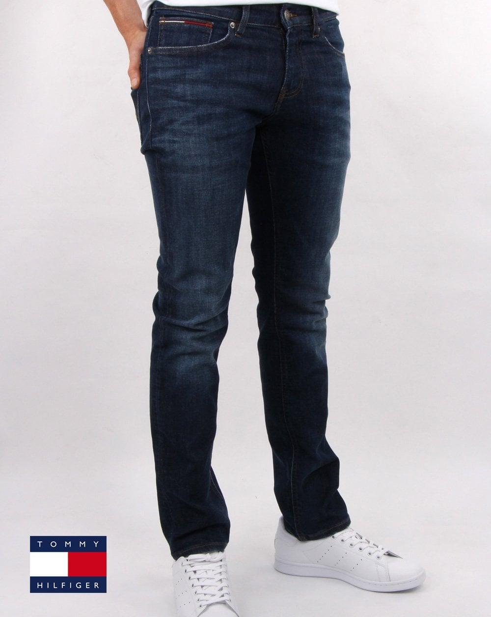 8b6e06006 Tommy Hilfiger Jeans Tommy Hilfiger Slim Scanton Dynamic Stretch Jeans Dark  Blue