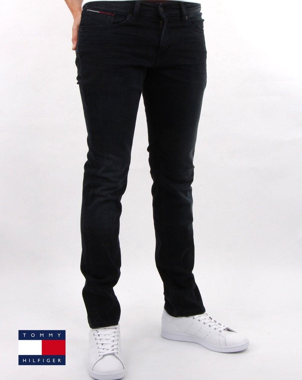 mehr Fotos cc666 67b43 Tommy Hilfiger Slim Scanton Jeans Dynamic Black