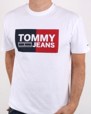 Tommy Hilfiger Split Box T-shirt Classic White