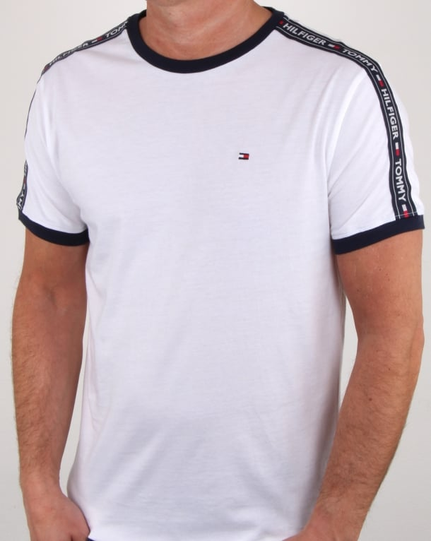 Tommy Hilfiger Taping T Shirt White fa4f1c7e4ec