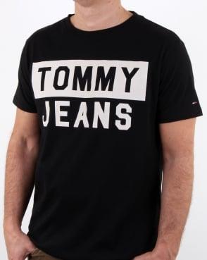 Tommy Hilfiger Jeans Tommy Hilfiger Tommy Jeans T Shirt Black