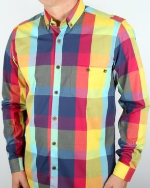 Tuktuk Madras Check Shirt Multi