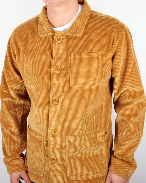 TukTuk Station Corduroy Jacket Toffee