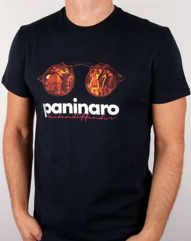 Weekend Offender 1990 Paninaro T-shirt Navy