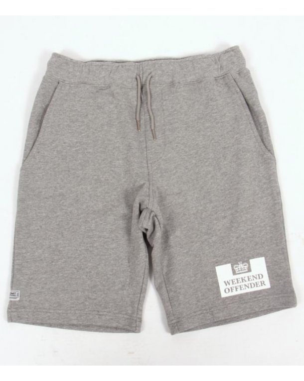 Weekend Offender Action Shorts Grey Marl
