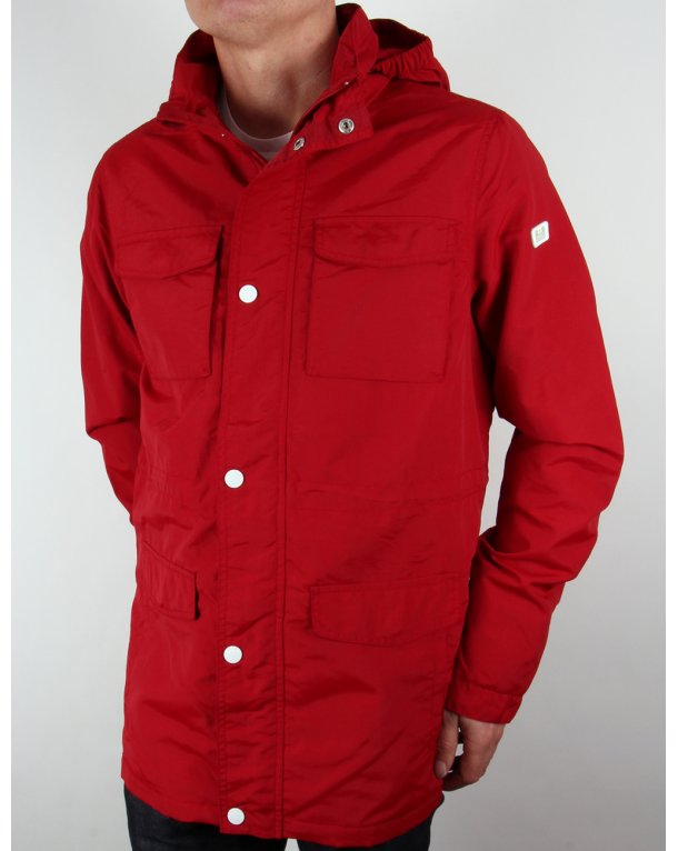 Weekend Offender Akron Jacket Red