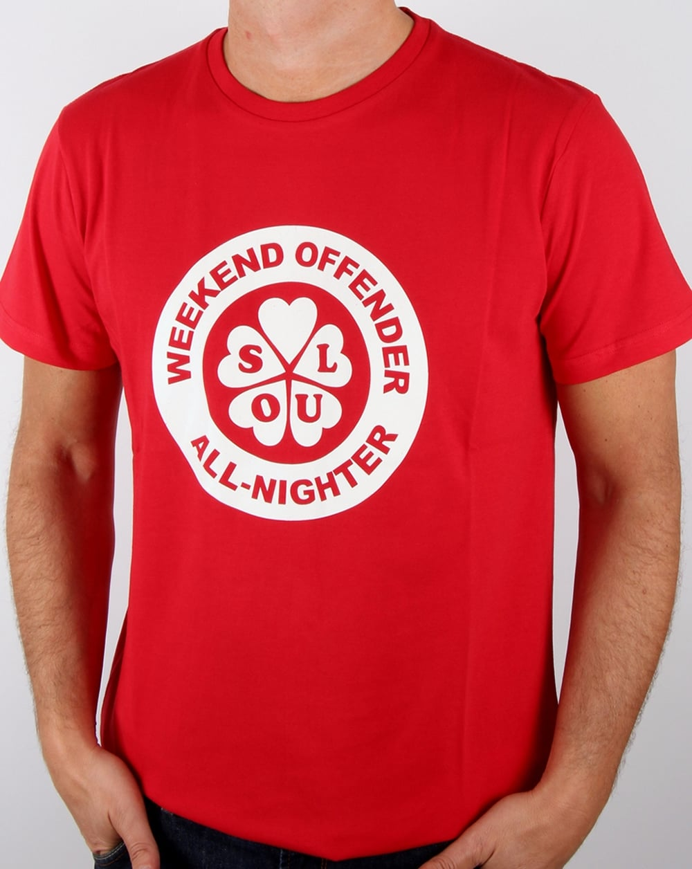 Weekend Offender All Nighter T Shirt Ruby