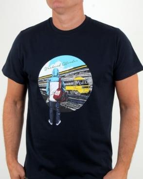 Weekend Offender Away Days T Shirt Navy