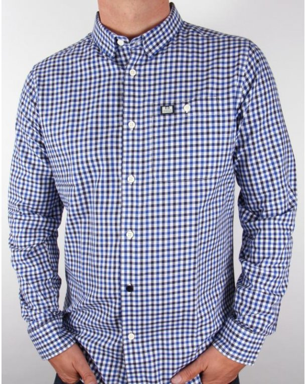 Find blue and white check shirt at ShopStyle. Shop the latest collection of blue and white check shirt from the most popular stores - all in one.