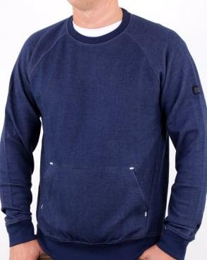 Weekend Offender Bisset Sweatshirt French Navy