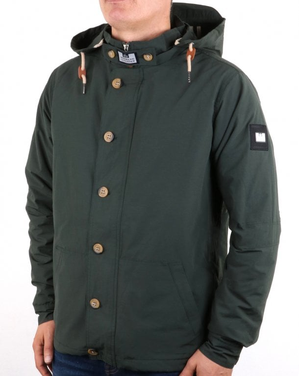 Weekend Offender Brook Jacket Green