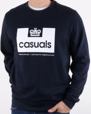 Weekend Offender Casuals Sweatshirt Navy
