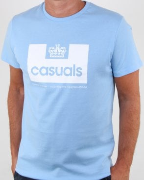 Weekend Offender Casuals T Shirt Sky Blue
