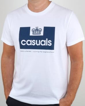 Weekend Offender Casuals T Shirt White