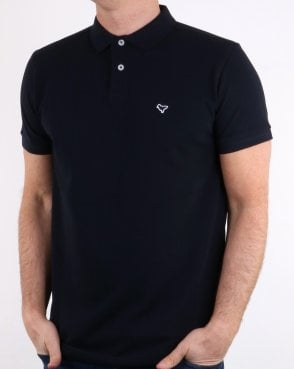 57dcfb5d922c4f Weekend Offender Dove Polo Shirt Navy