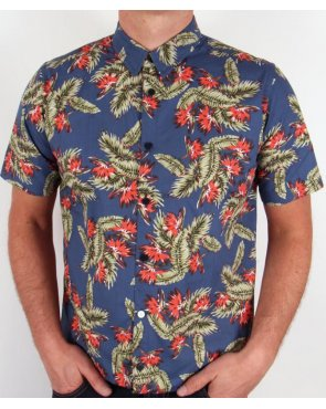 Weekend Offender Edgewater Shirt Navy