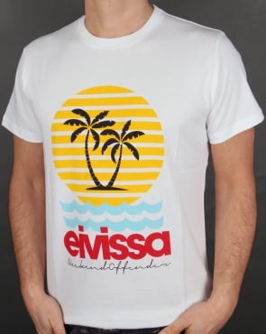 Weekend Offender Eivissa T Shirt White