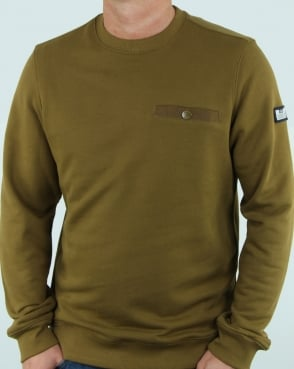 Weekend Offender Eliot Sweatshirt Olive