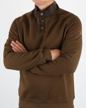 Weekend Offender Freeman Jumper Khaki
