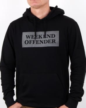 Weekend Offender Hayworth Hoody Black