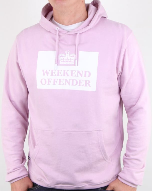 Weekend Offender Hm Service Hoody Lilac