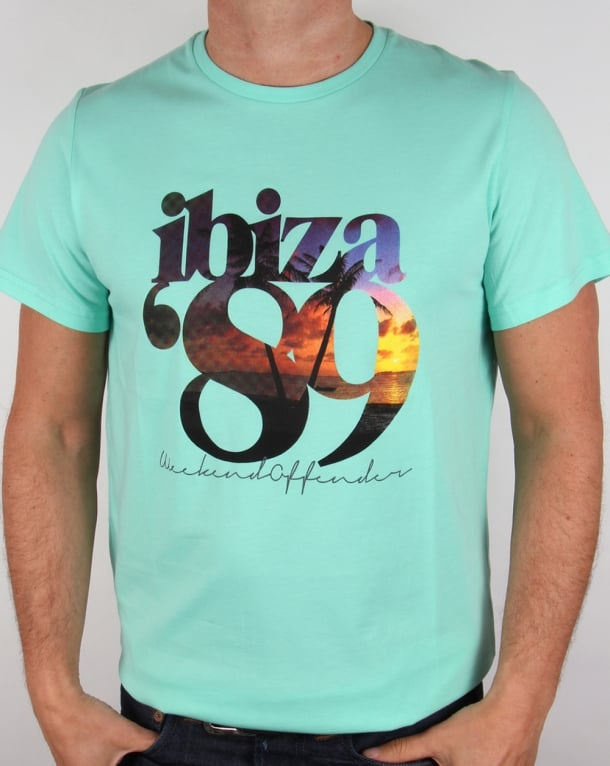 Weekend Offender Ibiza 89 T-shirt Teatree