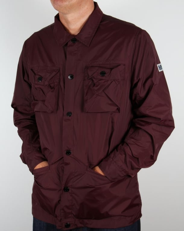 Weekend Offender Jacket Burgundy