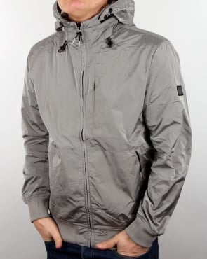 Weekend Offender Jacket Silver Grey