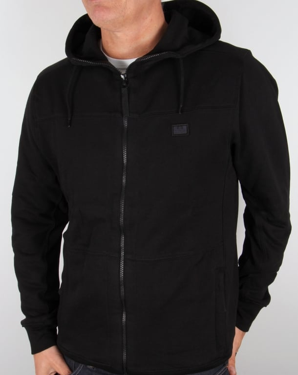 Weekend Offender Lee Hoody Black