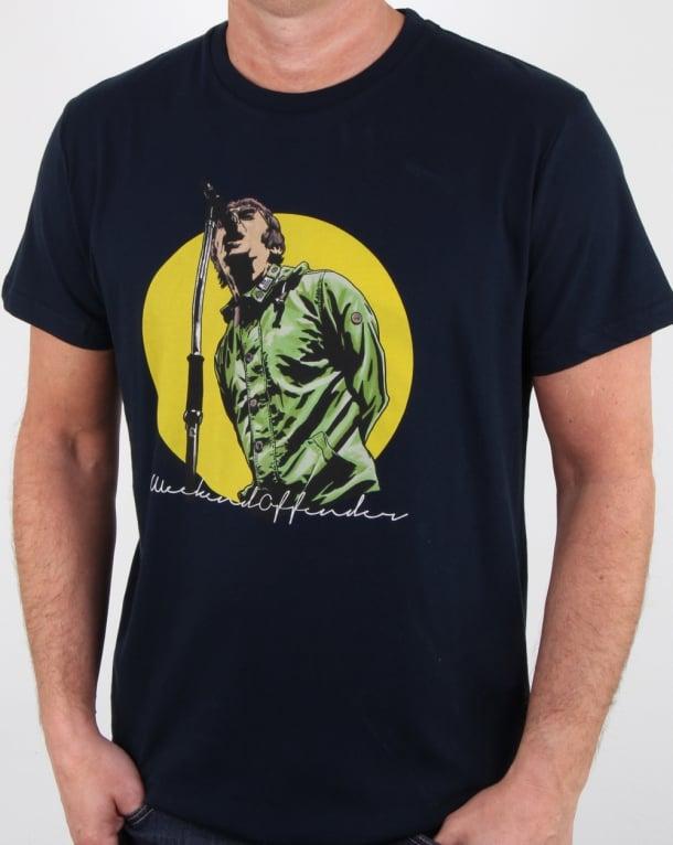 Weekend Offender Liam T Shirt Navy
