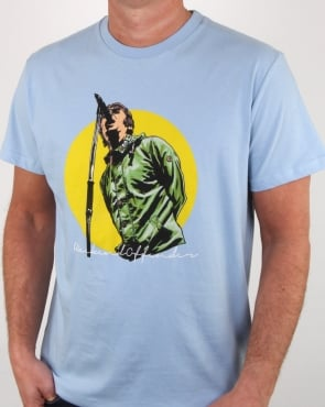 Weekend Offender Liam T Shirt Sky