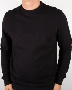 Weekend Offender Logo Sweatshirt Black