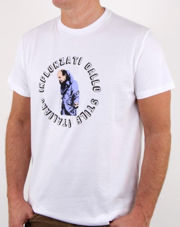 Weekend Offender Osti T Shirt White