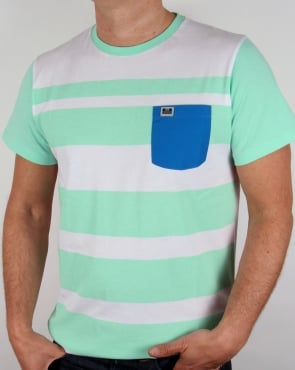 Weekend Offender Quintessence T-shirt Teatree/White