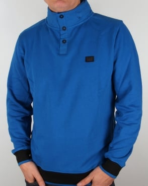Weekend Offender Raimi Sweatshirt Savoy Blue