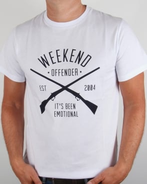Weekend Offender Rifles T-shirt White