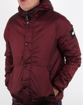 Weekend Offender Robinson Jacket Burgundy