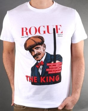 Weekend Offender Rogue Arthur T-shirt White