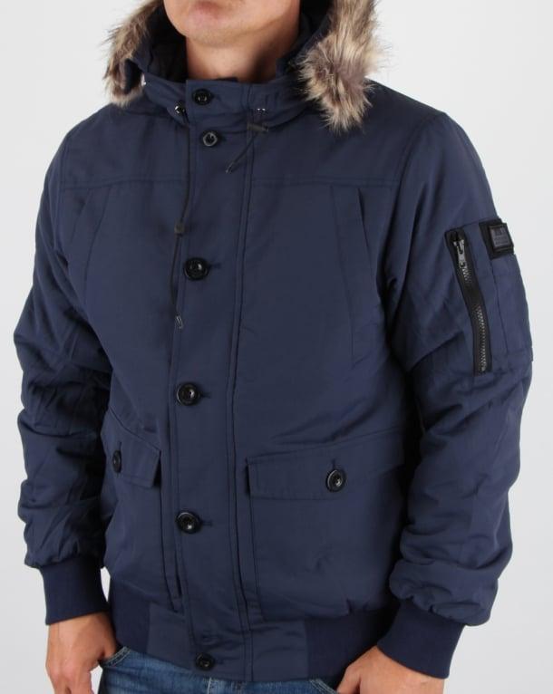 Weekend Offender Scope Jacket Navy