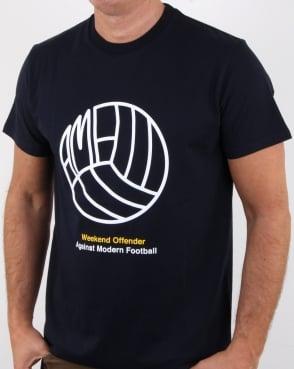 Weekend Offender Stand T Shirt Navy