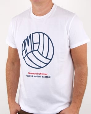 Weekend Offender Stand T Shirt White