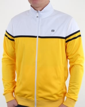 Weekend Offender Steinbeck Track Top Lemon