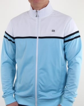 Weekend Offender Steinbeck Track Top Sky Blue