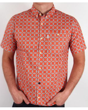 Weekend Offender Strathmere Shirt Orange