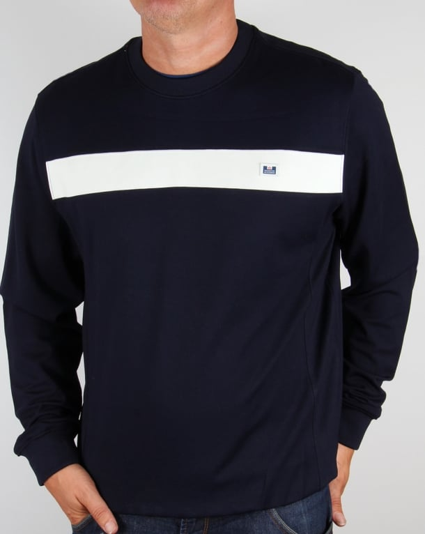 Weekend Offender Tees Sweatshirt Navy
