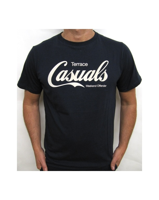 Weekend Offender Terrace Casuals T-shirt Navy