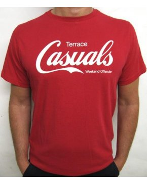 Weekend Offender Terrace Casuals T-shirt Red